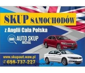 Skup Anglików, Skup Aut z Anglii #cała Polska# Najwyższe Ceny!