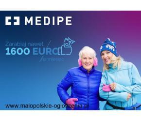 Praca dla Opiekunki osób starszych w Poczdam - na 2 miesiące za 1650 EURO/msc